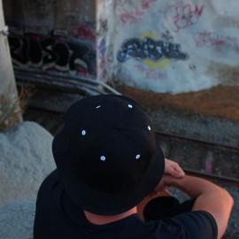 912cf2e427783 Lot of 12 Black 6 Panel Bucket Hats