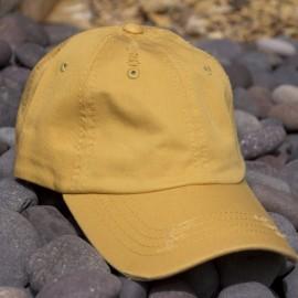 Lot of 12 Mustard Vintage Frayed Dad Hats 61e016307303