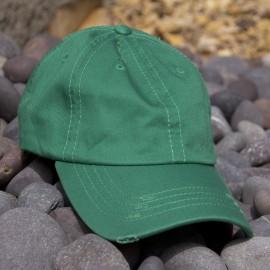 c23ddddeab3 Lot of 12 Kelly Green Vintage Frayed Dad Hats
