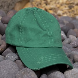 Lot of 12 Kelly Green Vintage Frayed Dad Hats 8183c4fde5cb