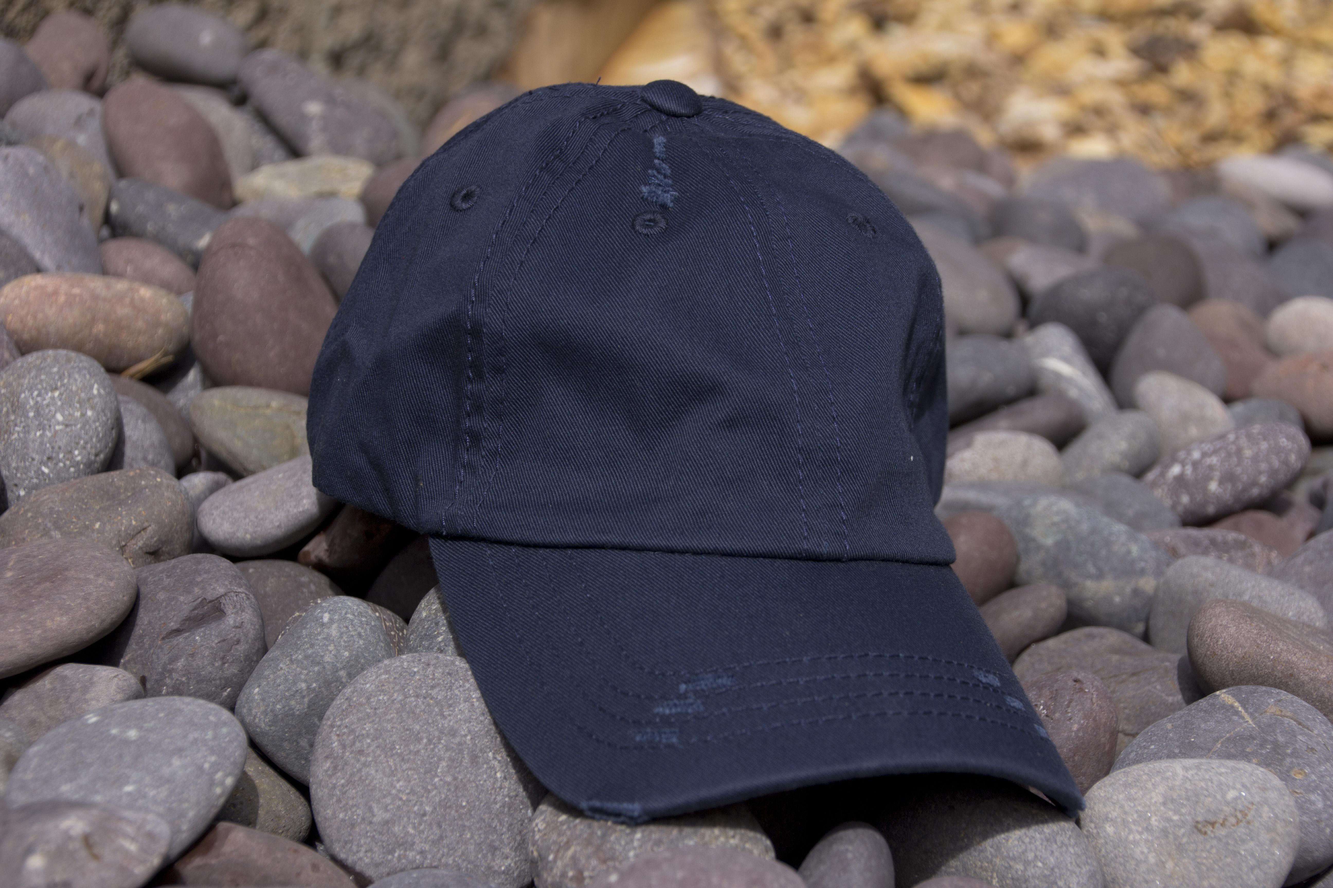 02bfbbeab9d Lot of 12 Navy Vintage Frayed Dad Hats